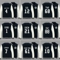 EXO OVERDOSE Member Personal Name And Number Baseball Uniform On Japan Concert