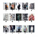 KPOP EXO XOXO WOLF GROWL LOMO Card 30 Photos With 1 Iron Box And 10 Heart Shape Clips