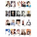 EXO SEHUN Retro LOMO Card 20 Photos With 1 Iron Box And 10 Heart Shape Clips