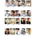 SJ Super Junior Siwon Korean Fashion LOMO Card 20 Pictures With 1 Nice Iron Box And 10 Heart Shaped Clips