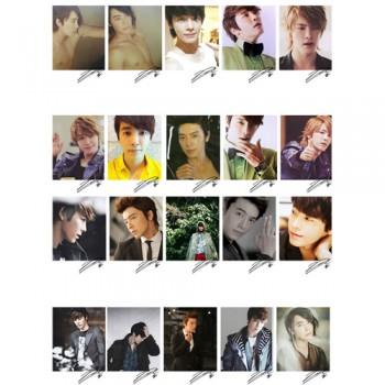 SJ Super Junior DongHae Individual LOMO Card 20 Photos
