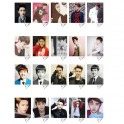 D.O Personal EXO XOXO WOLF LOMO Card 20 Photos With 1 Iron Box And 10 Heart Shaped Clips