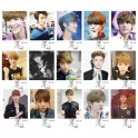 LUHAN EXO-M LOMO Card 20 Photos With 1 Iron Box And 10 Heart Shape Clips