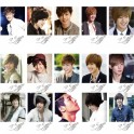 Kim Hyun Joong SS501 LOMO Card 20 Photos With 1 Iron Box And 10 Heart Shape Clips Ver.2