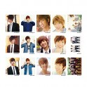 BOYFRIEND Korean Popular LOMO Card 30 Photos With 1 Iron Box And 10 Heart Shaped Clips
