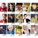 Eunhyuk SJ Super Junior Individual LOMO Card 20 Nice Photos With 1 Iron Box And 10 Heart-Shaped Clips