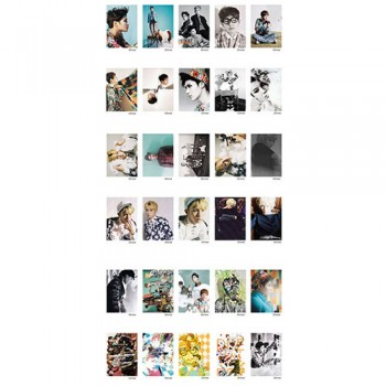 SHINee LOMO Card 30 Photos With 1 Iron Box And 10 Heart Shape Clips Ver.2