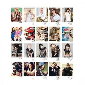 2NE1 Collective ROMO LOMO Card 20 Photos With 1 Iron Box And 10 Heart Shape Clips Ver.3