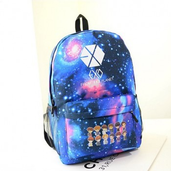 2014 new South Korean star with stars EXO shoulder bag fashion travel bag