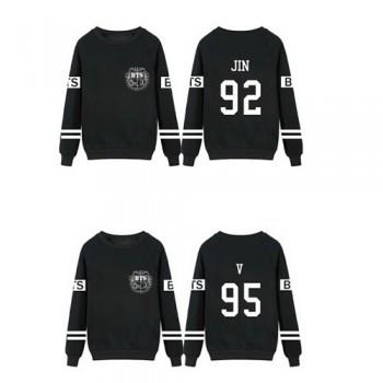 KPOP BTS Bangtan Boys Jung Kook J-hope JIN Jimin V Suga Cotton Sweatshirts Outerwears