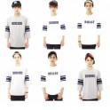 EXO Football Birthday T-shirt High Quality White Summer Soccer Uniform Jersey