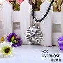 EXO Album Overdose Maze LOGO K Group M Group Nice Necklace