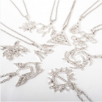 EXO Rhinestone Necklace Fashion 12 Member Personal Symbols