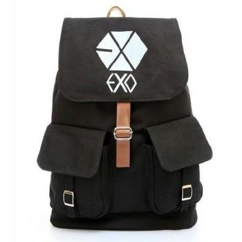 EXO School Bag Satchel Canvas Backpack