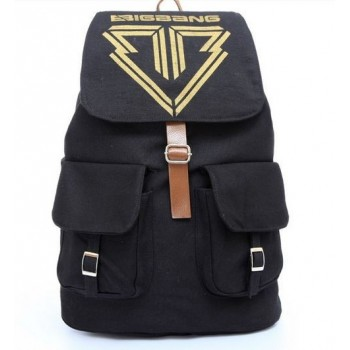BIG BANG backpack School Bag Satchel Canvas Backpack