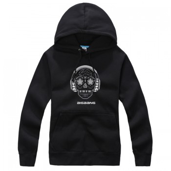 BIGBANG Skull Black New Fashion Special Sweater Pullover Hoodie Mixed